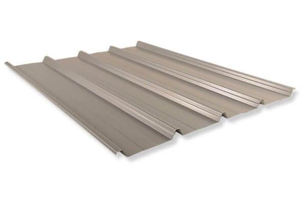 Tôle de couverture aluminium
