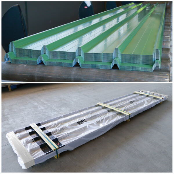 fabrication de toles acier et emballage