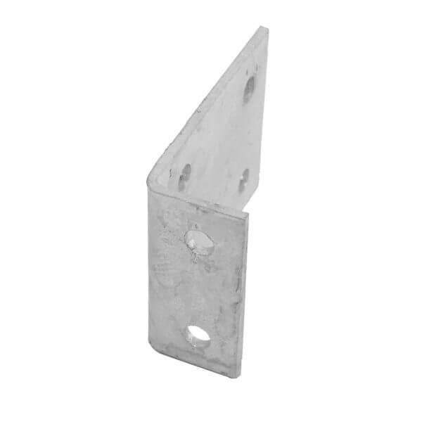 Equerre de fixation galvanisée pour panne C180mm